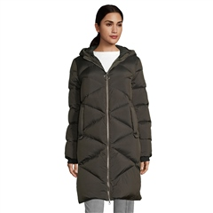 Betty Barclay Down Padded Coat - Burnt Olive
