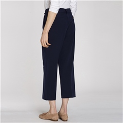 Olsen Cropped Trousers With Belt