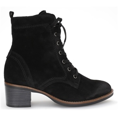 Gabor Lace Detail Zip Up Boots