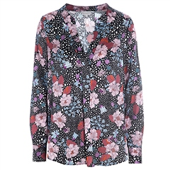 Dea Kudibal 'Santena' Stretch Silk Tunic - Flowerfield Print