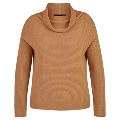 Le Comte Wool Blend Cowl Neck Jumper