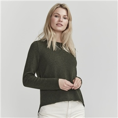 Holebrook 'Elaine' Wool Blend Jumper - Bottle