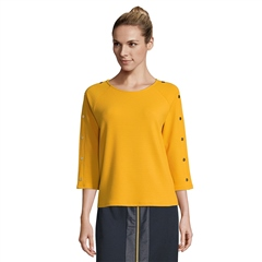 Betty Barclay Button Detail Top - Golden Glow