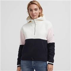 Holebrook 'Lina' Hooded Windproof Jumper - Colour Block