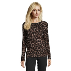 Betty Barclay Animal Print Shimmer Jumper