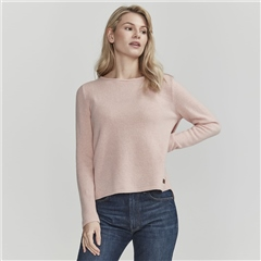 Holebrook 'Elaine' Wool Blend Jumper - Flamingo