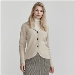 Holebrook 'Pernilla' 100% Cotton Jacket - Khaki