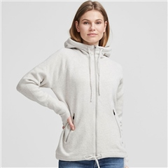 Holebrook 'Martina' Wool Windproof Jacket With Hood - Grey
