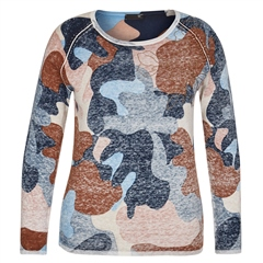 Rabe 100% Cotton Embroidered Abstract Print Jumper