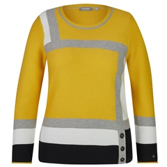 Rabe Block Colour Jumper - Honey