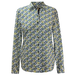 Erfo 100% Cotton Petal Print Blouse