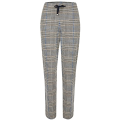 Rabe Check Pull-On Trousers