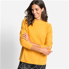 Olsen Pocket Detail High Neck Jumper