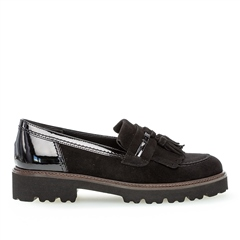 Gabor Tassel Detail Loafers
