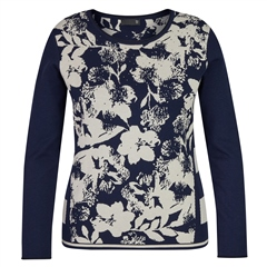 Rabe Floral Print Insert Jumper