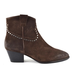 Ash 'Houston Bis' Brushed Ankle Boots