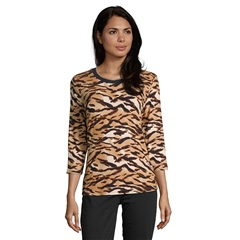 Betty Barclay Tiger Print Top