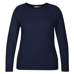 Rabe Embellished Ribbed Jumper - Marine