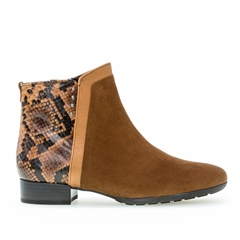 Gabor Snake Detail Ankle Boots