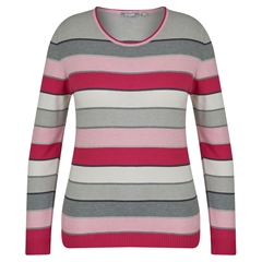 Rabe Round Neck Striped Jumper