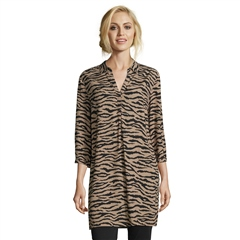 Betty Barclay Tiger Print Tunic Blouse