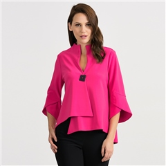 Joseph Ribkoff Fluted Sleeves Jacket