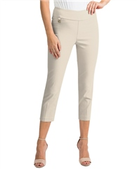 Joseph Ribkoff Pull On 7/8th Trousers - Champagne