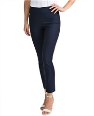 Joseph Ribkoff Essentials Pull On 7/8th Trousers - Midnight