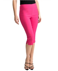 Joseph Ribkoff Pull On 3/4 Length Trousers - Hyper Pink