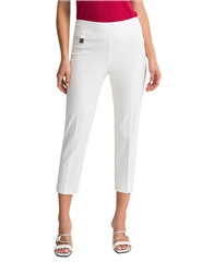 Joseph Ribkoff Pull On 7/8th Trousers - White