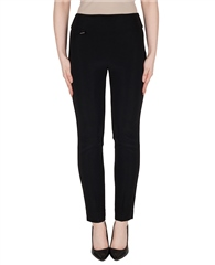 Joseph Ribkoff Essentials Pull On Trousers - Black
