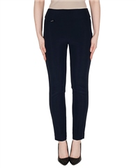Joseph Ribkoff Essentials Pull On Trousers - Navy