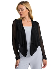 Joseph Ribkoff Essentials Sheer Cover Up