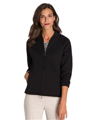 Olsen Zip Up Quilted Jacket