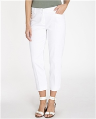 Olsen 'Lisa' Slim Fit Cropped Trousers