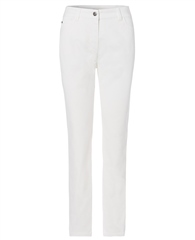 Olsen Slim Fit Jeans - White