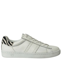 Philip Hog 'Serena' Zebra Detail Lace Up Trainers