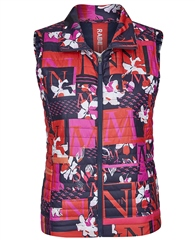 Rabe Abstract Print Padded Gilet