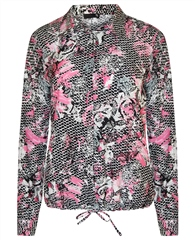 Rabe Mixed Print Blouse