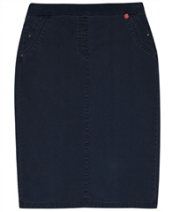 Relaxed by Toni My Darling' Knee Length Skirt - Marine