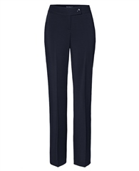 Toni 'Marlene Beauty' Wide Leg Trousers - Dark Blue