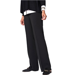 Toni 'Marlene Beauty' Wide Leg Trousers - Black