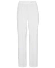 Toni 'Marlene Beauty' Wide Leg Trousers - White