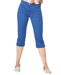 Toni 'My Best Friend' Cotton Mix Capri Trousers