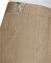Toni 'Patty' Regular Fit Linen Trousers - Desert Sand