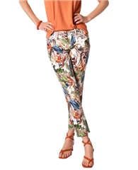Toni 'Perfect Shape' Floral Print 7/8th Jeans