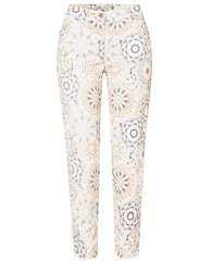 Toni 'Perfect Shape' Kaleidoscope Print 7/8th Jeans