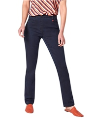 Toni 'Alice' Pull-On Slim Fit Jeans - Marine
