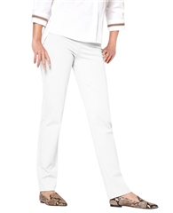 Toni 'Alice' Pull-On Slim Fit Jeans - White