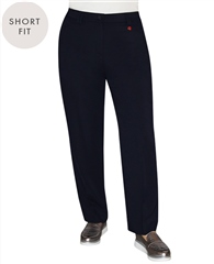 Relaxed by Toni 'Kelly' Short Fit Trousers - Marine